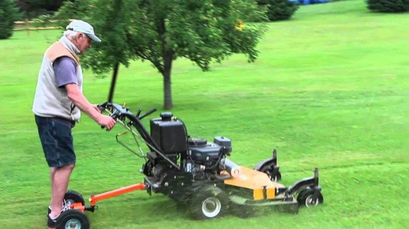 Walk Behind Lawn Mower Versus Zero Turn Lawn Mower